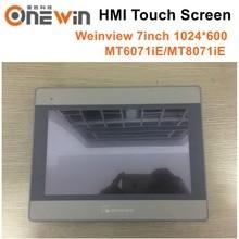 Weinview MT6071iE MT8071iE HMI Touch Screen 7 zoll 1024*600 Human Machine Interface ersetzen MT6100I