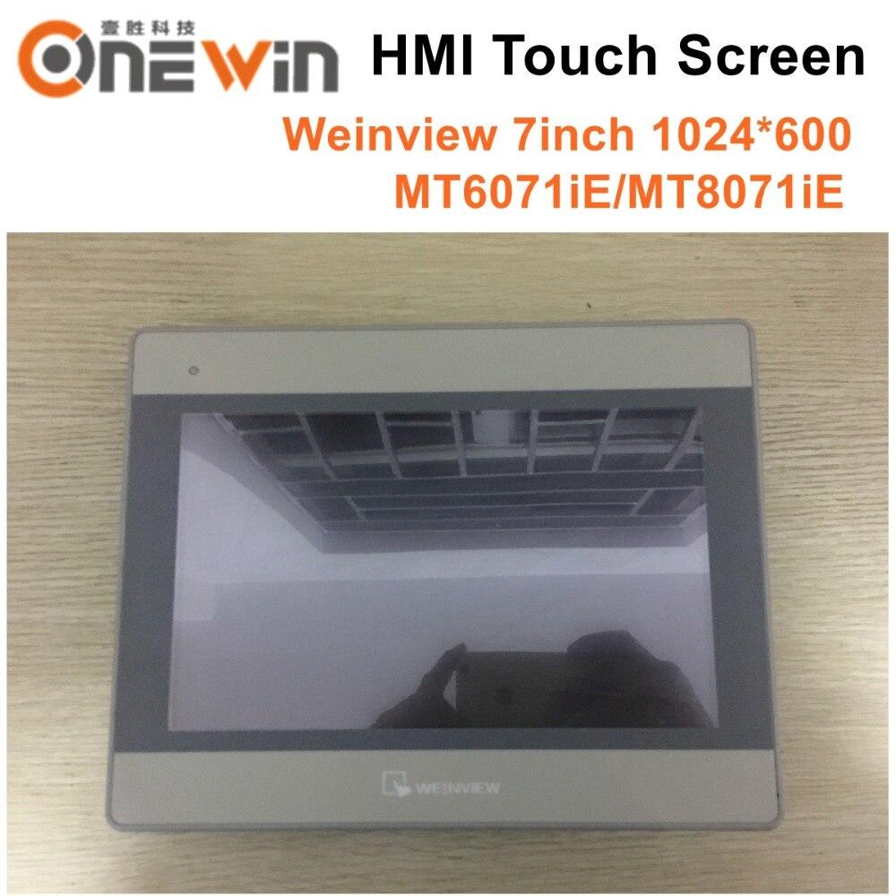 Tela de Toque Interface da Máquina Weinview Weintek Hmi 7 Polegada 1024*600 Humana Substituir Mt6100i – Mt6071ie Mt8071ie