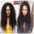 Pineapple Wave Malaysian Deep Wave Sexy Formula Hair Malaysian Deep Curly Weave Cheap Free Part Full Lace Wigs For Black Women