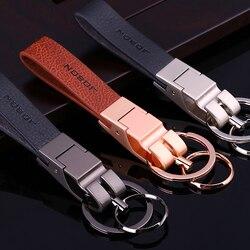 Jobon high-grade chaveiro corda de couro personalizado rotulação presente para porta-chaves do carro titular melhor presente para as mulheres chaveiro saco pingente