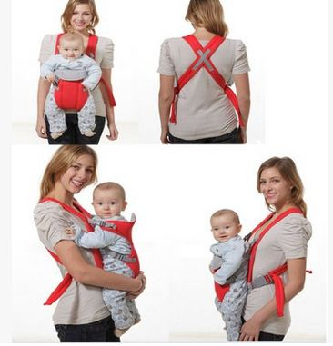 0 6m Infant Newborn Ergonomic Cloth Bag Baby Carrier Wrap Backpack