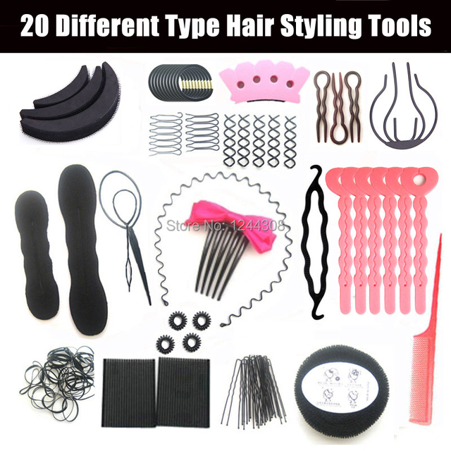 High Quality Women Hair Styling tools Set Hair Accessories