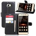 Бумажник Дело Откидную Крышку Кожаный Чехол Для Huawei Ascend Y560 Для Huawei Y5/Y5 II (Honor 5А) Держатель карты Стенд Оболочки Etui Чехол