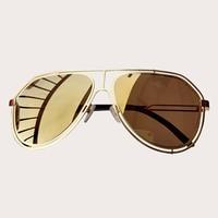 Luxury Big Cat Eye Sunglasses Women 2019 Fashion Shades UV400 Alloy Frame Vintage Brand Glasses Designer Oculos