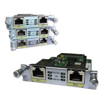 New Sealed HWIC-2FE= 2 Port 10/100 Serial Router Module WAN Interface Card
