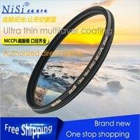 Nisi 82mm Circular Polarizer Polarising Lens Filter Ultra Slim Multi Coated PRO MC CPL for Canon Nikon Fujifilm Pentax Panasonic