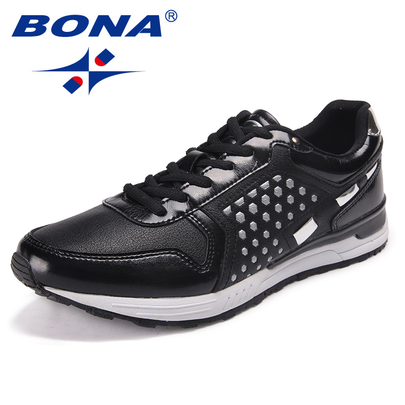 $34.72 BONA New Arrival Classics Men Running Shoes Lace Up Men Athletic Shoes Outdoor Jogging Sneakers Comfortable Fast Free Shipping