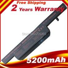 Bateria do portátil para Clevo C4500 C4500BAT 6 C4500Q 5200Mah BAT B5105M C4100