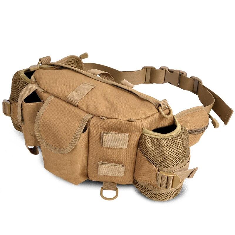 Prix pour Grand Grand Tablet Caméra Sac Militaire Tactique Taille Sac Trekking Woodland Sécurité Étanche Tactique Bouteille D'eau Sacs