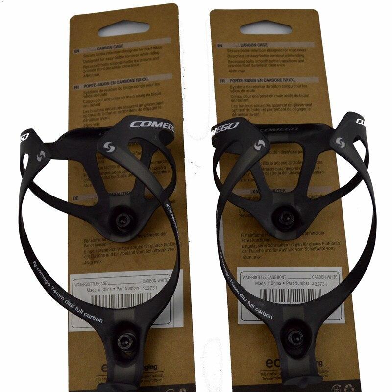 2 STÜCKE heiße verkäufe vollcarbon flaschenhalter flaschenhalter fahrrad zubehör mit paket matt 2 farben 16g