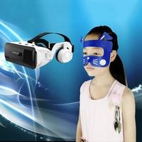 100 pcs Azul Descartável Pad Olho Máscara De Pano Para Htc PSVR Vive PRO Fone de Ouvido Para Sony PLAYSTATION Acessórios de óculos VR/AR     -