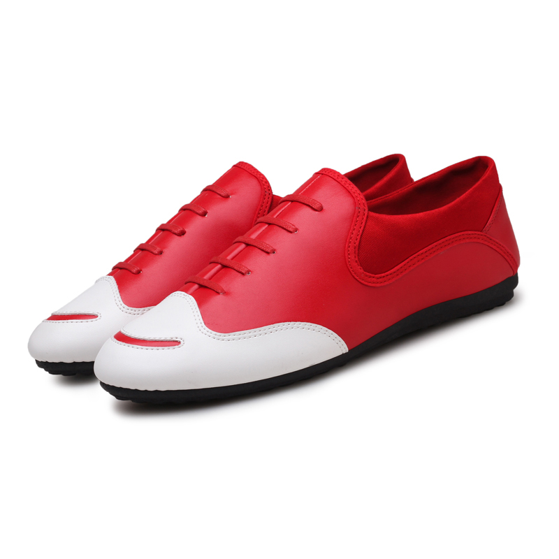 shoes men fashion casual pu Leather slip on business brand men dress - Men's Shoes - Photo 2