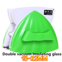 2016 Latest Doube Faced Adjustable Magnetic Force Window Cleaner For 15 22MM Double Layer Hollow