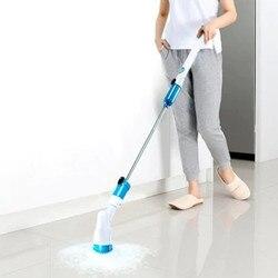 Vasca Piastrelle Cordless Spazzole per pulizia Detergente Per La Casa Strumenti di Uragano Rotante scrubber di Alimentazione Lavasciuga Bagno Spazzola Elettrica
