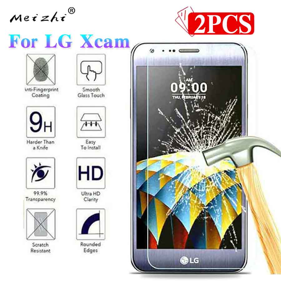 For LG Xcam Screen Protector 9H Premium Phone Protective Film Tempered Glass For LG X Cam K580Y K580DS Dual SIM F690S F690L Case
