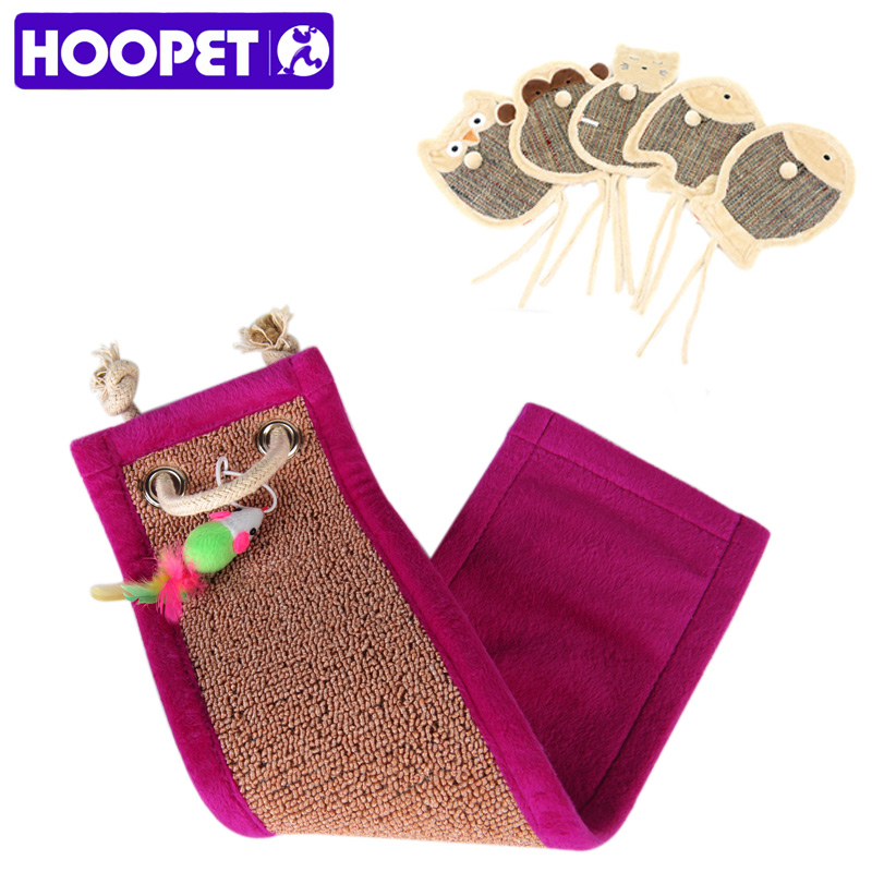 Hoopet Cats Corrugated Paper Scratching Board With Catnip