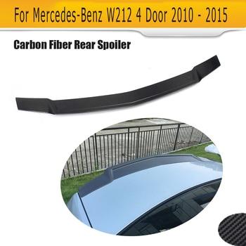 Carbon Fiber Car Spoiler for Mercedes Benz W212 E350 E300 E400 E550 E63 AMG 4 Door 10-15