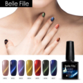 10ml Cat Eyes Nail Gel Polish UV Gelpolish Colorful Varnish UV  Gel Nail Kits With Lamp Ultra Fine Nail Glitter Chamelon