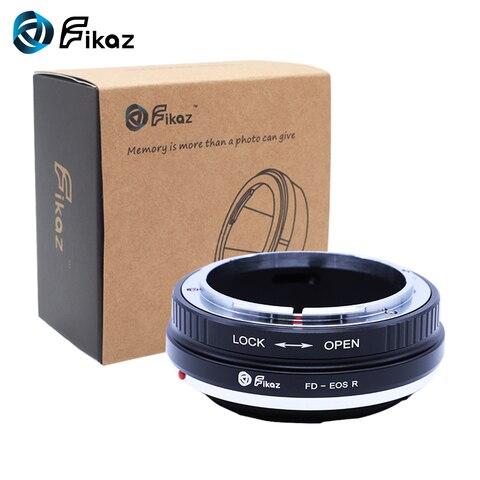 Fikaz para Fd-eos Lente da Câmera Adaptador de Montagem para Canon Lens para Canon Corpo da Câmera Anel r fd Eos rf