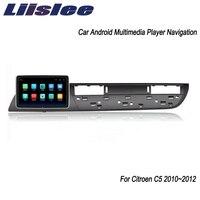 Liislee Android System For Citroen C5 2010~2012 Big Screen Car Multimedia Player GPS Navigation Video Radio Bluetooth