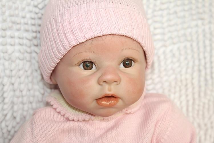 Online Shop Free Shipping 22 Baby Silicone Vinyl Reborn Dolls