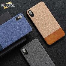 KISSCASE Cloth Leather Case For Samsung Galaxy A50 A70 S10E S10 S9 S8 Plus S7 Edge A3 A5 J3 J5 J7 2017 A7 2018 Note 10 Plus Case стоимость