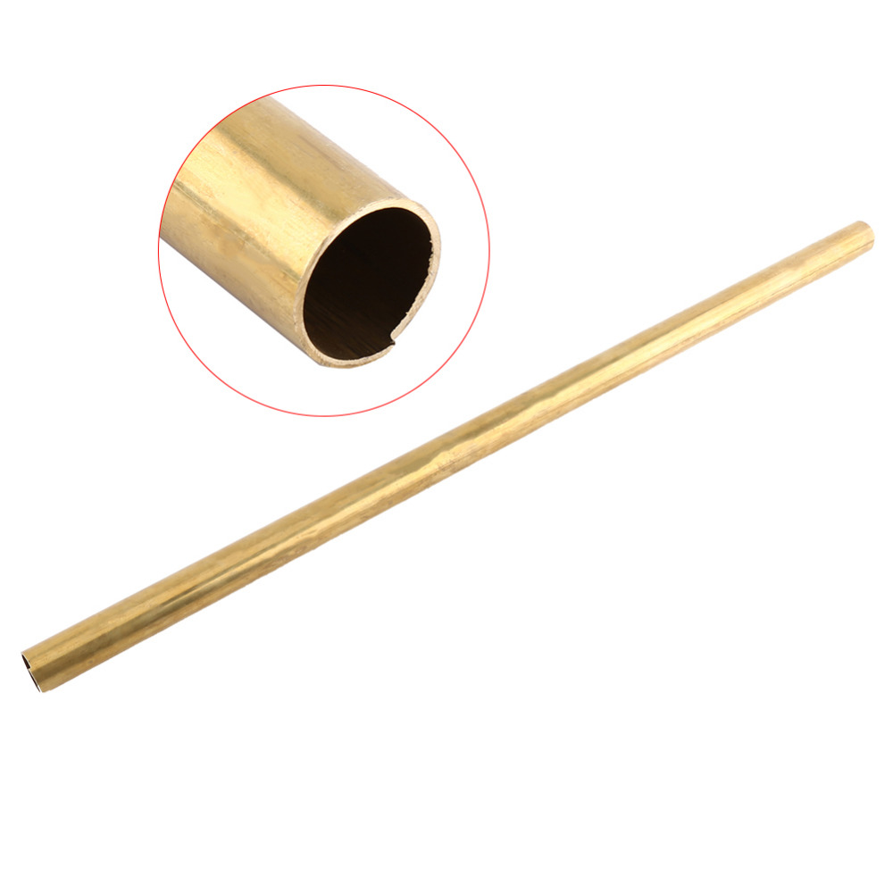 Model Making 8mm X 50cm Brass Tube Pipe Tubing Round Long 2PCS OD 6mm Model Rail and Boat Used for Pipeline