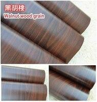 Furniture Stickers Wood Grain Pvc Wall Wallpaper Kitchen Cabinet Wardrobe Cabinet Waterproof