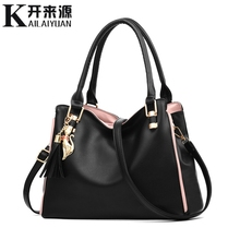 KLY 100% Genuine leather Women handbags 2019 New Sweet Lady Fashion Embossed Womens Bag Crossbody Shoulder Tote Messenger bag