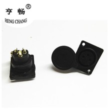 XLR Buchse 3 Pin Buchse Panel Mount Chassis Bike Batterie Lade Port Adapter