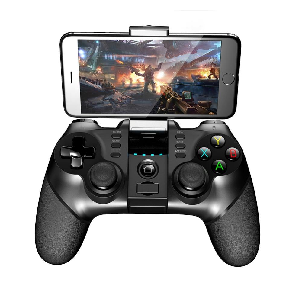 цена на 2018 New Batman ipega 9077 Bluetooth Wreless Handle Contra Game Handle Joystick the Return of The King King of Glory