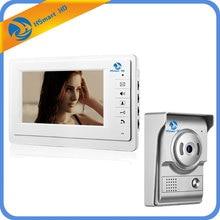 7 inch LCD Video Intercom Doorbell Home Security Video Door Phone IR Camera Monitor With Night Vision Videoportero Unlock Cam