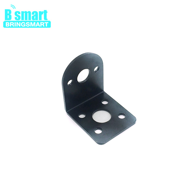 Bringsmart Mini Motor Support for 25mm Gearbox Diameter Gear Motor Parts Fixed With Screw for DIY Stands Toys Mounting Bracket