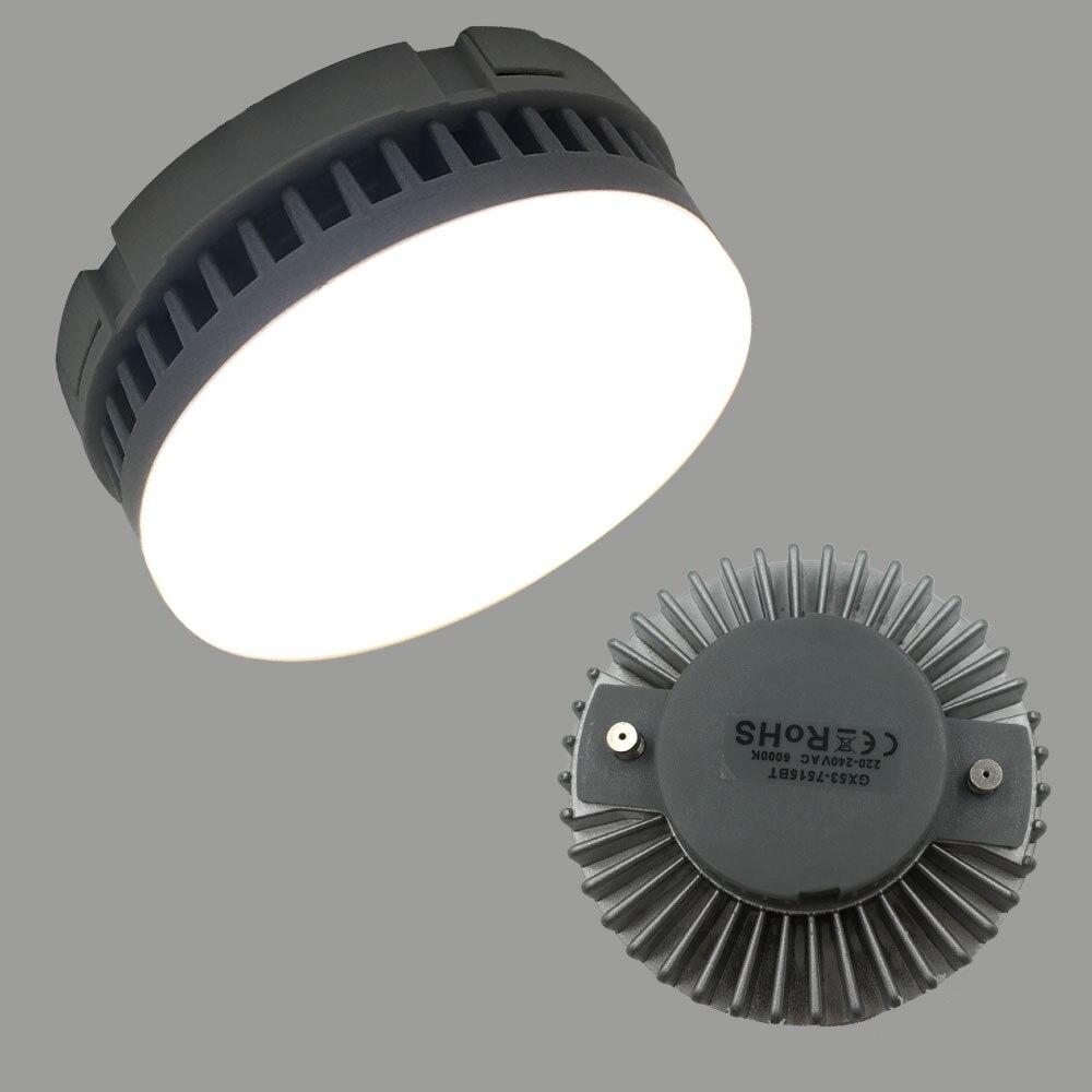 Бесплатная доставка GX 53 <font><b>led</b></font> 5 Вт 7 Вт 9 Вт <font><b>GX53</b></font> лампа AC220-240V Теплый Холодный Белый без розетки