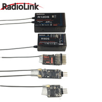 Radiolink 2 4G R12DSM 12 Channels Receiver 12CH RX FSS DSSS Spread Spectrum For Radiolink Transmitters