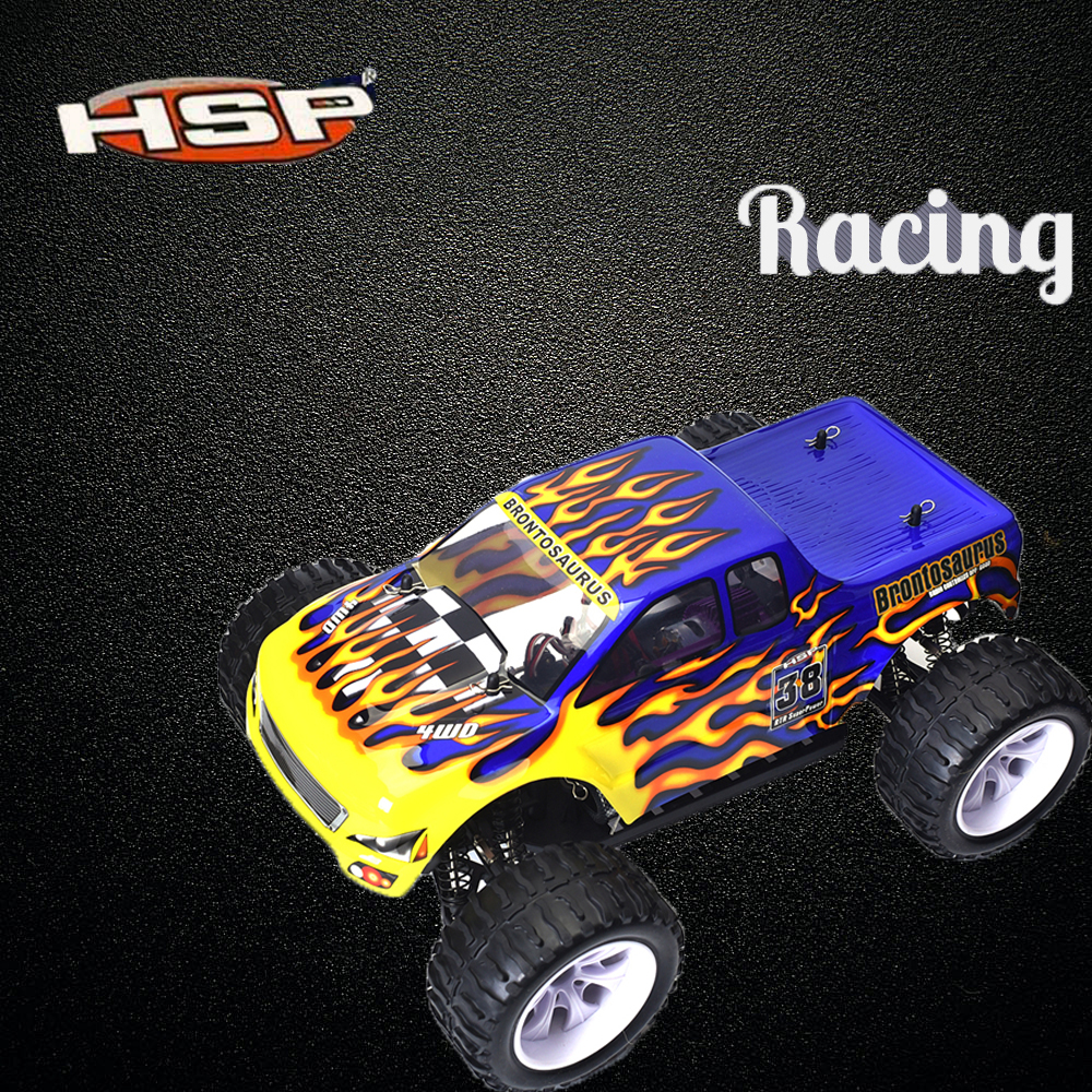 HSP Rc Car 4wd 1/10 Scale Model Electric Car Off Road Monster Truck Remote Control Car 94111 High Speed Drift Car Hobby Toys New 03007 motor mount rc hsp 1 10th on road drift off road car buggy monster truck rc car parts child toys