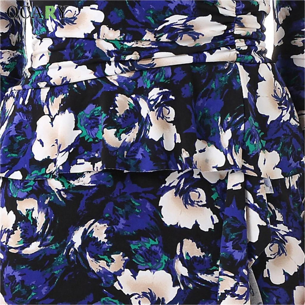 Vintage Floral Print Aliexpresscom Buy Ocary 2017 New Fashion Women Spring Dress
