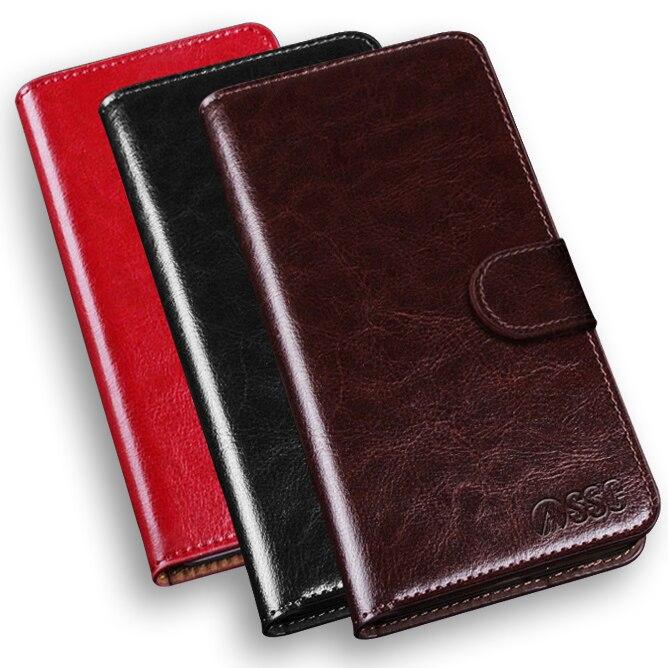 Luxe Top qualité PU Étui En Cuir Pour TCL 3N M2M M2U housse Stand Wallet Mobile Téléphone Sac avec porte-cartes Fundas Coque capa