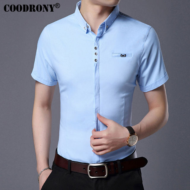 Business Casual Short Sleeve Shirt  2
