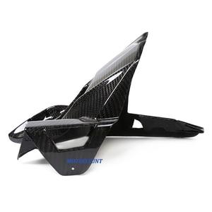 Image 3 - Motorcycle Accessories Carbon Fiber Rear Fender Mudguard Fender Hugger For Kawasaki Z800 ZR 800 Z ZR800 2013 2016 2014 2015