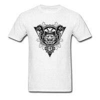 Retro Logo Tasarım Tops T Gömlek erkekler Hayır Cep 3D dijital Baskı Lüks Marka T-Shirt % 100% Pamuk Takım Hediye Tshirt yaz