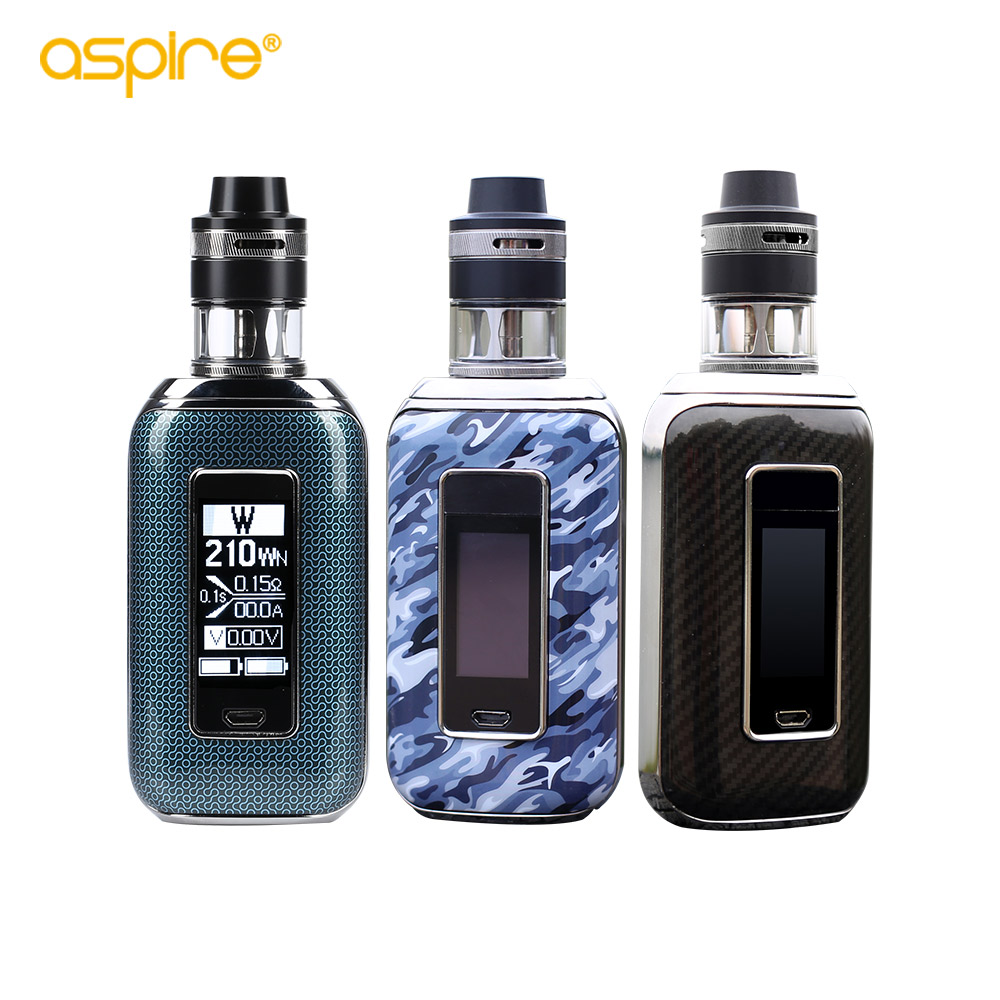 Original aspire Aspire SkyStar Revvo kit electronic cigarette with 210W SkyStar Box Mod vape 2ml/3.6ml Revvo Tank Vaporizer