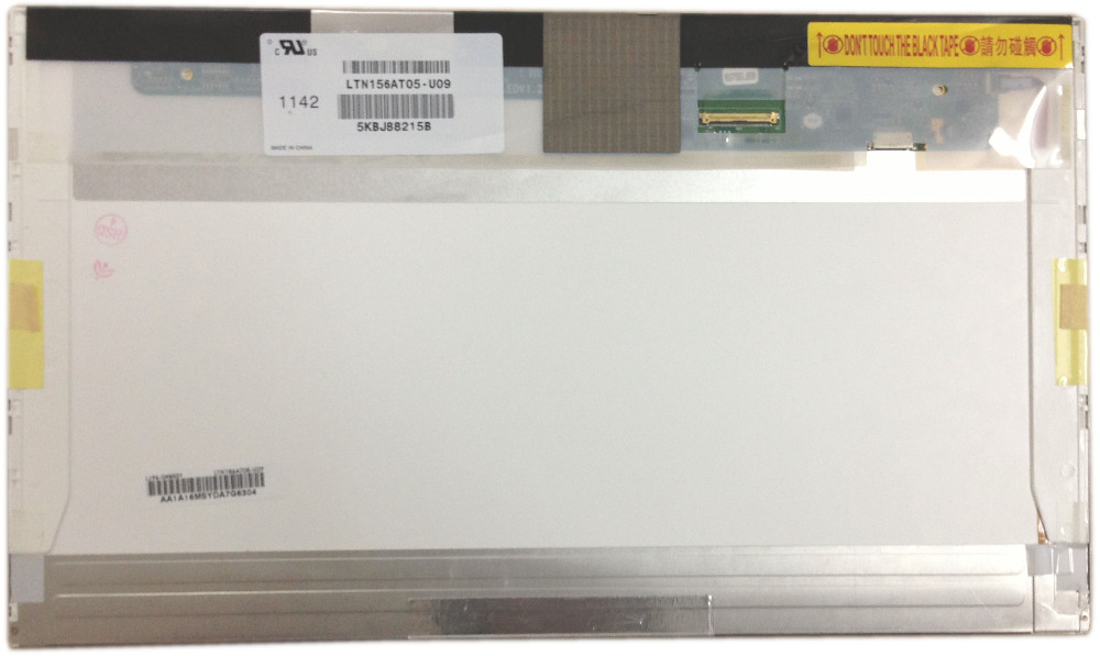 цена LTN156AT05 U09 W01 H01 S01 fit B156XW02 V.6 V.2 LTN156AT22 LTN156AT24 LP156WH4 TLN1 15.6 LED Laptop LCD screen panel