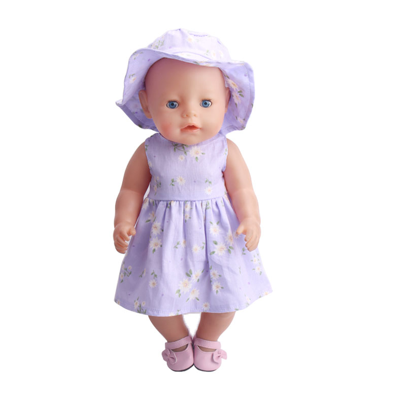 43cm Zapf Baby Born Doll Clothes All kinds of style clothes children Christmas gift free shipping the doll f232