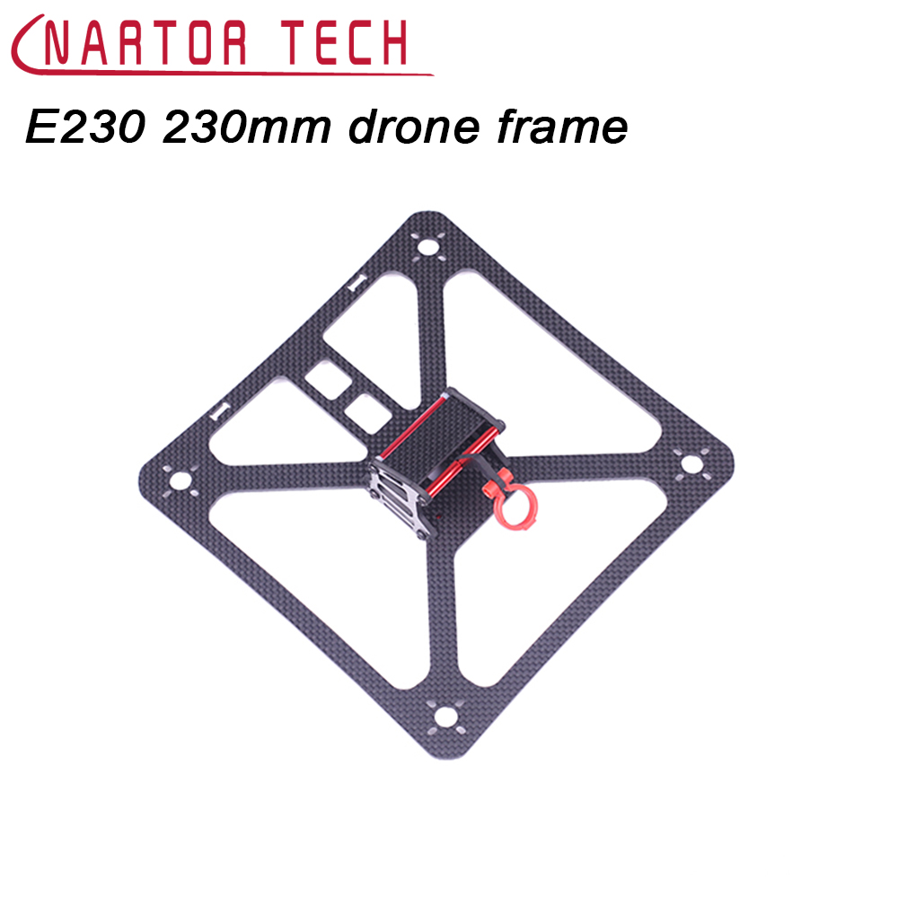 230mm Mini Drone Frame For Four - axis DIY FPV Quadcopter Frame Kit Mini Racing Drone Parts 16pcs 8 pairs 10 blade propeller 1045 brushless motor for qav250 dron drones drone frame parts kit fpv quadcopter frame