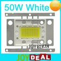 Freeshipping! 50 W Epistar High Power LED Lamp luz 4000-4500LM DC16-18V 3A Pure White cor 6500 - 7000 K