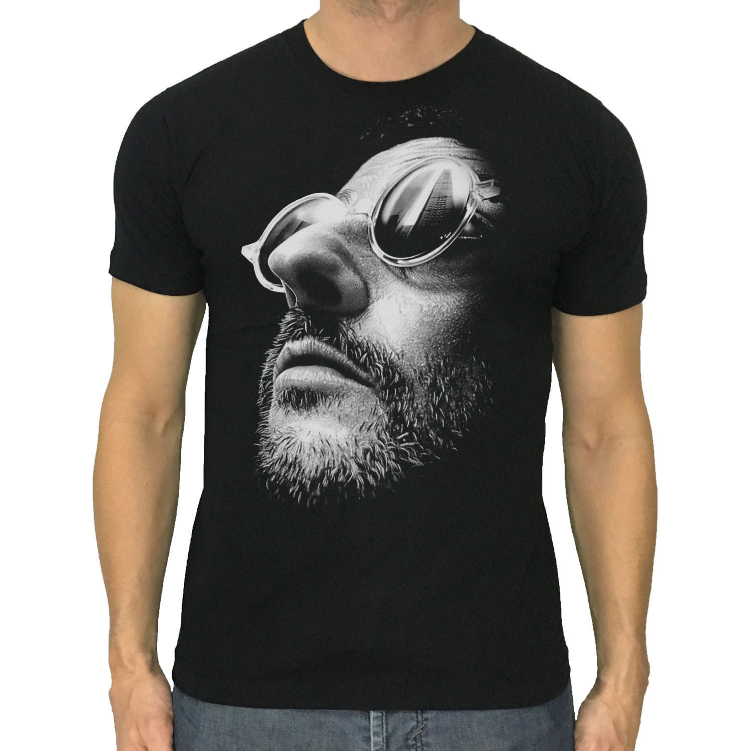 Jean Reno t-shirt LEON The Professional new men black or dark grey S to 2XL