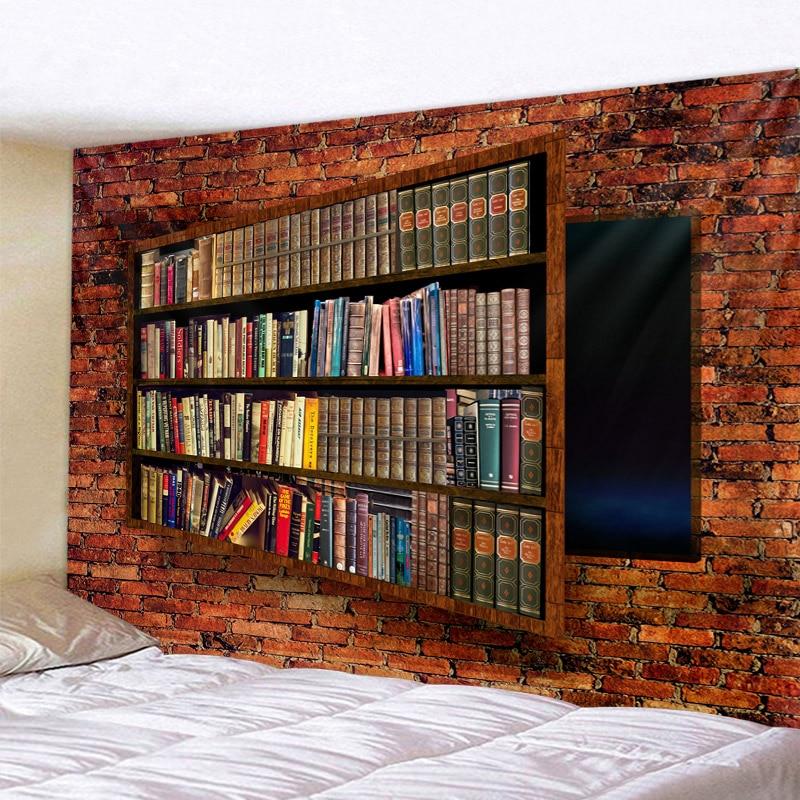 Neat Bookshelf Beautiful Mandala Tapestry Wall Hanging Beach Towel,Home Decor Tapestries Living Room Bedroom Couch Blanket