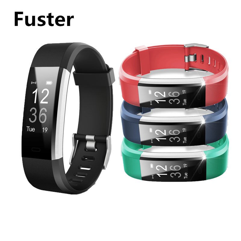 Fuster ID115 Plus Fitness APP GPS Activity Tracker Smart