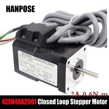 Hybrid Step-servo motor NEMA 17 Stepper Motor 17HS4401 17hs8401 2A and HBS57 Closed Loop Servo Driver CNC Controller